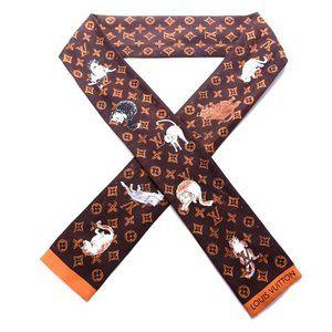 Louis Vuitton Catogram Coddington bandeau scarf